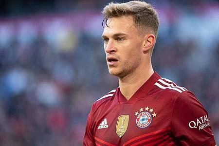 Fußballspieler Joshua Kimmich vom FC Bayern München. Foto: Sven Hoppe/dpa