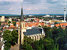 Martin-Luther-Kirche-Luftaufnahme