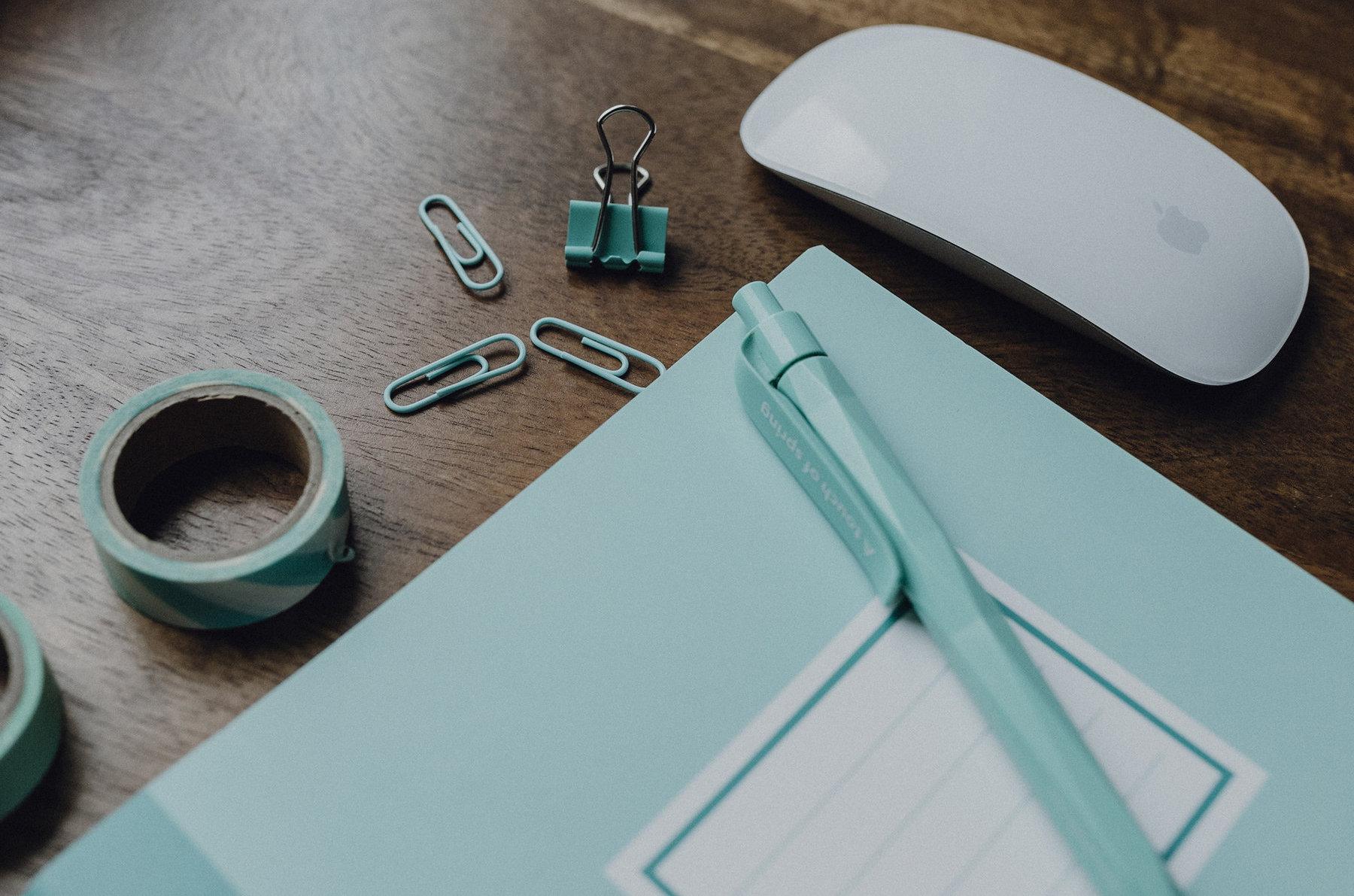 Schreibtisch-Maus
