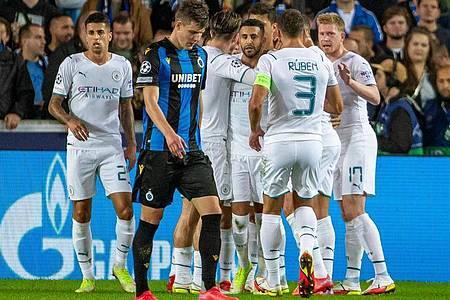 Manchester City feierte einen souveränen Auswärtssieg in Brügge. Foto: Kurt Desplenter/BELGA/dpa