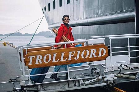 Frances (Jenny Slate) lernt auf den Lofoten eine völlig neue Welt kennen. Foto: W-Film/dpa