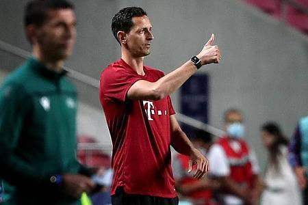 Vertritt weiter den fehlenden Julian Nagelsmann: Bayern-Co-Trainer Dino Toppmöller. Foto: Pedro Fiuza/ZUMA Press Wire/dpa