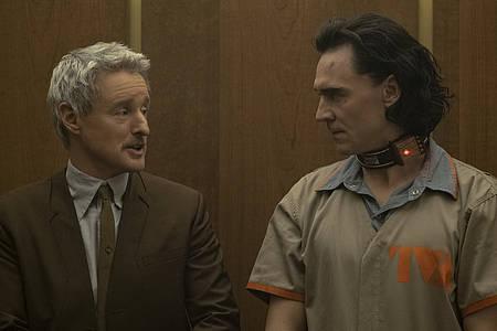 """Szene aus der Serie """"Loki"""" (Streaming-Review)"""