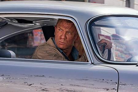 Ab dem 30. September ist Daniel Craig zum fünften und letzten Mal als James Bond im Kino zu sehen - in «Keine Zeit zu sterben». Foto: Nicola Dove/EON Productions/Metro-Goldwyn-Mayer Studios/dpa