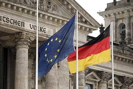 Deutschland ist der größte Nettozahler in der EU. Foto: Carsten Koall/dpa