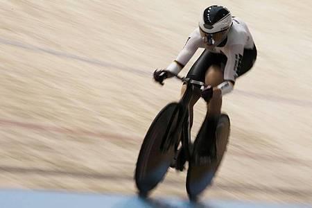Traumtage für Lea Sophie Friedrich bei der Bahnrad-WM. Foto: Thibault Camus/AP/dpa