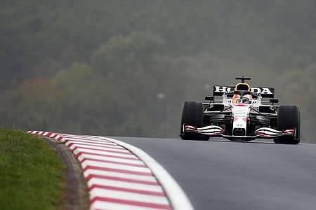 Führt in der WM-Wertung: Max Verstappen vom Team Red Bull Racing. Foto: Uncredited/AP/dpa
