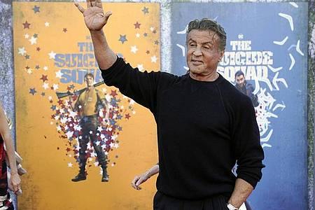 Wer Film-Erinnerungsstücke von Sylvester Stallone haben möchte, kann diese ersteigern. Foto: Chris Pizzello/Invision via AP/dpa