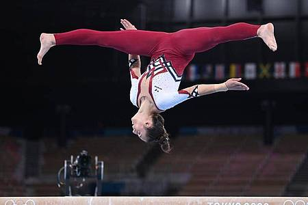 Olympia-Teilnehmerin Pauline Schäfer-Betz holte bei der WM Silber. Foto: Marijan Murat/dpa/Archivbild