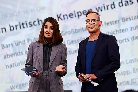 Die Moderatoren Linda Zervakis und Matthias Opdenhövel haben mit den Einschaltquoten zu kämpfen. Foto: Bene Mueller/ProSieben/dpa