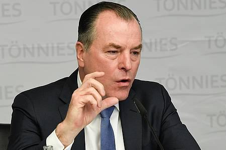 Clemens Tönnies spricht zum Corona-Ausbruch