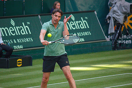 Michael Stich bei den Gerry Weber Open