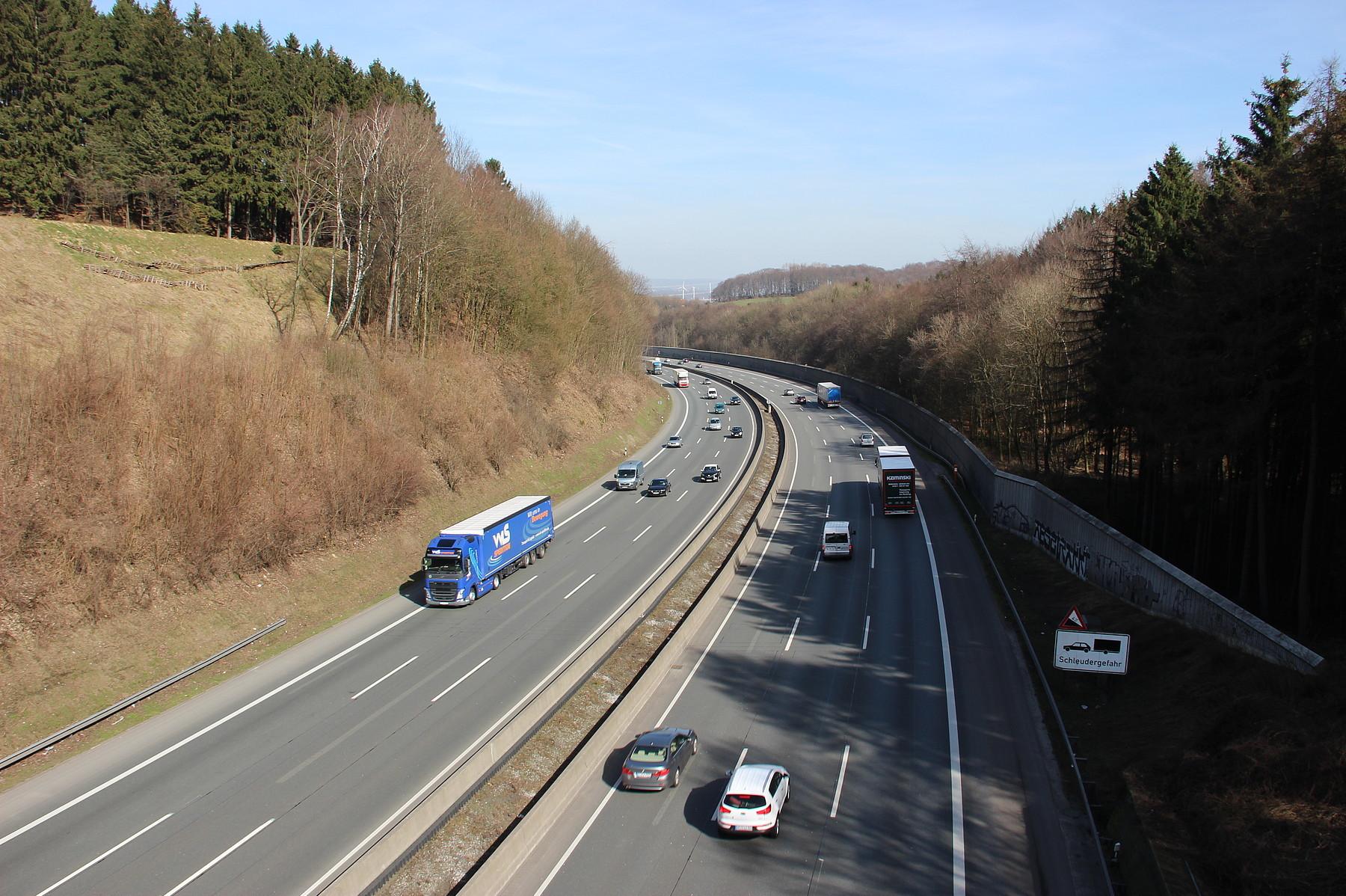 Autoverkehr in NRW