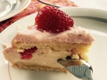 Erdbeerherz, Kuchen