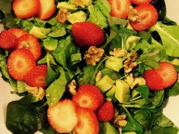 Erdbeersalat